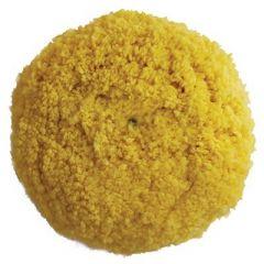 Presta Yellow Yellow Blended Wool Medium Cutting Pad 9 ScrewOn Pad-small image