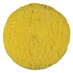 Presta Rotary Blended Wool Buffing Pad Yellow Medium Cut Case Of 12-small image