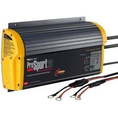 ProMariner ProSport 20 Gen 3 Heavy Duty Recreational Series On-Board Marine Battery Charger - 20 Amp - 2 Bank-small image
