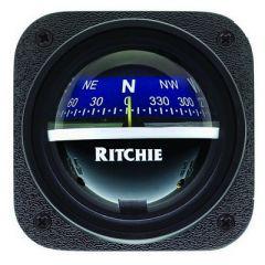Ritchie V537b Explorer Compass Bulkhead Mount Blue Dial-small image