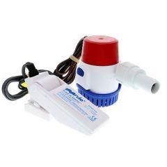 Rule 500 Gph Standard Bilge Pump Kit WFloat Switch 12v-small image