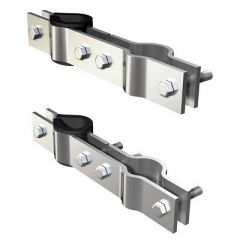 Shakespeare 4715 Galvanized Mast Clamp Set-small image