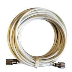 Shakespeare 20 Cable Kit FPhase Iii VhfAis Antennas 2 Screw On Pl259s Rg8x Cable WFme Mini Ends Included-small image