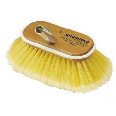 """Shurhold 6"""" Polystyrene Soft Bristles Deck Brush - Boat Cleaning Supplies-small image"""