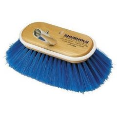 """Shurhold 6"""" Nylon Soft Bristles Deck Brush - Boat Cleaning Supplies-small image"""