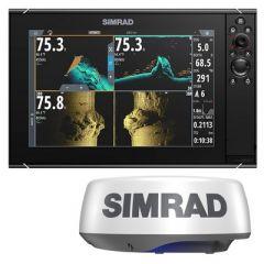 Simrad Nss12 Evo3s Combo Radar Bundle WHalo20-small image