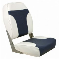 Springfield High Back MultiColor Folding Seat WhiteBlue-small image