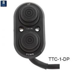TH Marine Transom Trim Control Push Button Trim Switch-small image