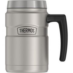 Thermos 16oz Stainless King Coffee Mug Matte Stainless Steel-small image