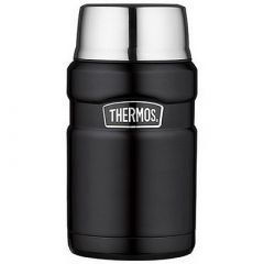 Thermos Stainless Steel King Food Jar Black 24 Oz-small image
