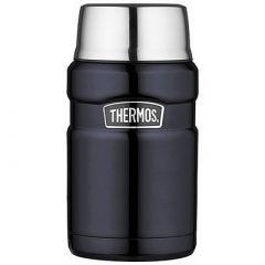 Thermos Stainless Steel King Food Jar Blue 24 Oz-small image