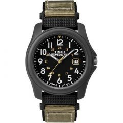 Timex Expedition Camper Nylon Strap Watch Black-small image