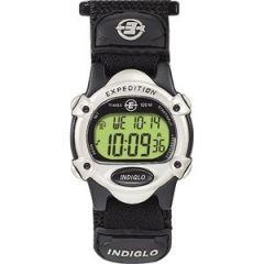 Timex Expedition WomenS Chrono Alarm Timer SilverBlack-small image