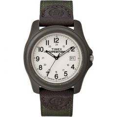Timex Expedition Unisex Camper BrownOlive Green-small image