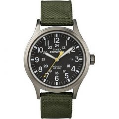 Timex Expedition Scout Metal Watch GreenBlack-small image