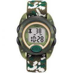 Timex KidS Digital Nylon Strap Watch Camoflauge-small image