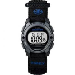Timex Expedition Digital Core Fast Strap BlackBlue-small image