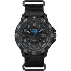 Timex Expedition Rugged Resin SlipThru Watch BlackBlack-small image