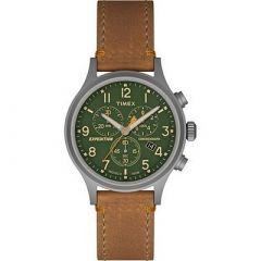 Timex Expedition Scout Chrono Watch TanGreen-small image