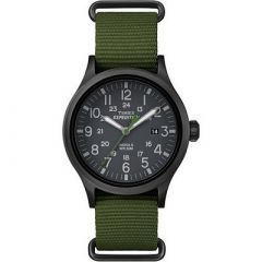 Timex Expedition Scout SlipThru Watch Green-small image