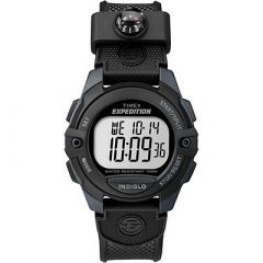 Timex Expedition ChronoAlarmTimer Watch Black-small image