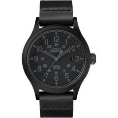 Timex Expedition Scout 40mm Black Fabric Strap Watch-small image
