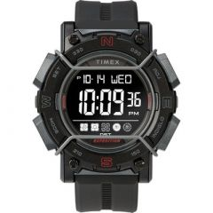 Timex Expedition Digital Face 47mm Black Screen WBlack Resin Strap-small image