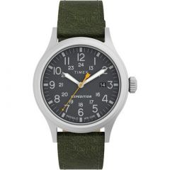 Timex Expedition Scout Black Dial Green Strap-small image