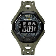 Timex Ironman Sleek 30 Full Resin Strap Watch Green-small image