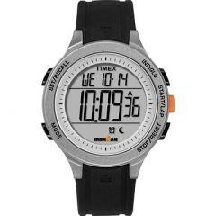 Timex Ironman Essential 30Lap Unisex Watch BlackGreyOrange-small image