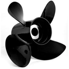 Turning Point Le14194 Hustler Aluminum RightHand Propeller 14 X 19 4Blade-small image