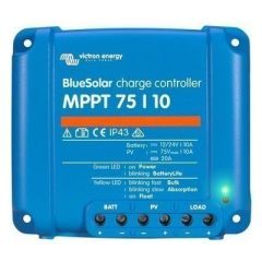 Victron Bluesolar Mppt Charge Controller 75v 10amp-small image