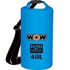 Wow Watersports H2o Proof Dry Bag Blue 40 Liter-small image