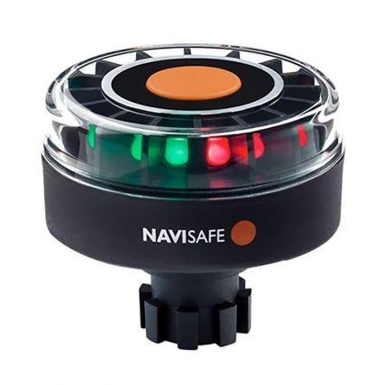 Black Navisafe Navilight 2NM Tricolor w//Navimount Base /& Horizontal Mount