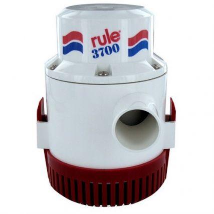 Bilge Pump Non Automatic 12V by Rule Rule 3700 G.P.H