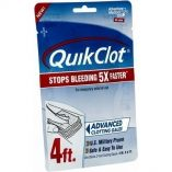 Adventure Medical Quickclot Gauze 3 X 4-small image