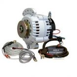 Balmar 621 Series Alternator Spindle MountSingle Foot Charging Kit 100a 12v-small image