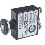 Blue Sea Push Button Reset Only Screw Terminal Circuit Breaker 5 Amps-small image