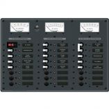 Blue Sea 8084 Ac Main 6 PositionsDc Main 15 Positions Toggle Circuit Breaker Panel White Switches-small image