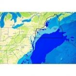 CMap Reveal Us Atlantic New York To Ma Cape Cod, Long Island Hudson River-small image