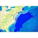 CMap Reveal Us Atlantic Rhode Island To Virginia, Block Island Ri To Norfolk Va-small image