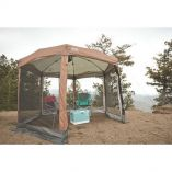 Coleman Shelter 12 X 10 Back Home Screened Canopy Sun Shelter WInstant Setup-small image