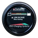 Dual Pro Battery Fuel Gauge Deltaview Link Compatible 48v System 412v Batteries, 86v Batteries, 68v Batteries-small image