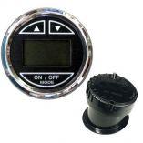 Faria 2 Depth Sounder WInHull Transducer Black Stainless Steel Bezel-small image
