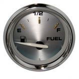 "Faria Kronos 2"" Fuel Level Gauge (E-1/2-F) - Marine Instrument Gauges-small image"