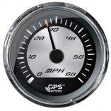 Faria Platinum 4 Speedometer 60mph Gps Studded-small image