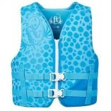 Full Throttle RapidDry Life Vest Youth 5090lbs Blue-small image