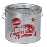 Frabill Galvanized 2Piece Wade Floating Bucket 8 Quart-small image