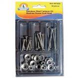 HandiMan Phillips Oval Head Machine Screw Kit 54 Pieces-small image