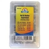 HandiMan Lock Nut Lock Washer Kit 223 Pieces-small image